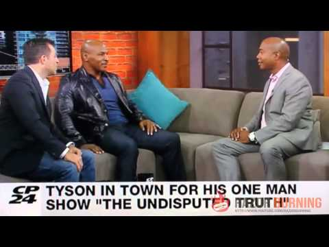 "Mike Tyson calls talk show host a ""piece of shit"""