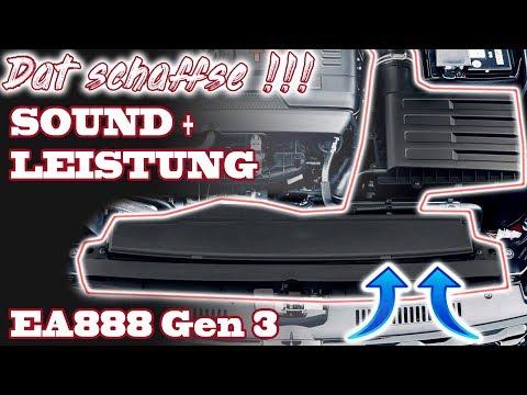 Dat schaffse!! | Ansaugung bearbeiten beim EA888 Gen3 | Bis 380 PS + Sound