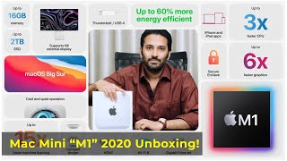 "Mac Mini ""M1"" 2020 Unboxing! 
