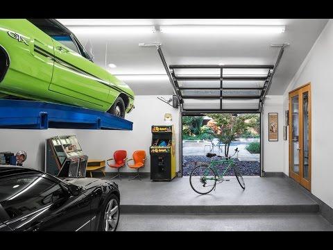 Garajes - Mobiliario para garajes, armarios, estanterías, puertas, prefabricados FOTOS