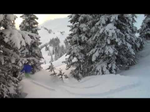 Whistler Blackcomb received 60 cms in 48 hours.