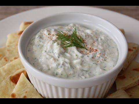 Tzatziki Sauce – How to Make Tzatziki – Greek Garlic Yogurt Sauce