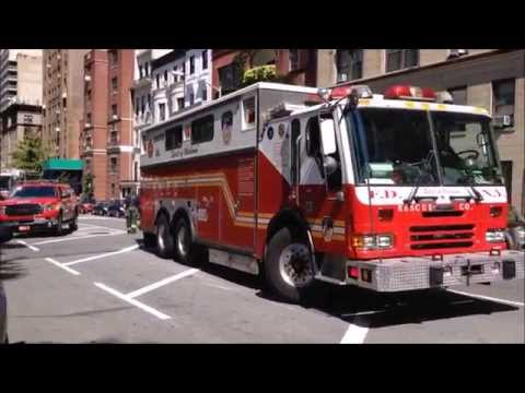 SUPER EPIC COMPILATION OF FDNY RESCUE 1 RESPONDING, CRUISING BY & TAKING UP ON THE STREETS OF NYC. Mp3