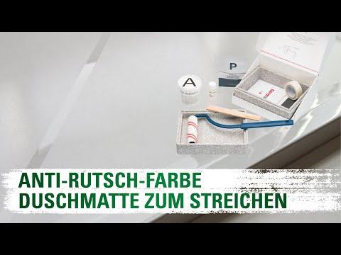 Duschmatte zum Streichen - SWISSGrip AntiRutsch® Bad - Anleitung