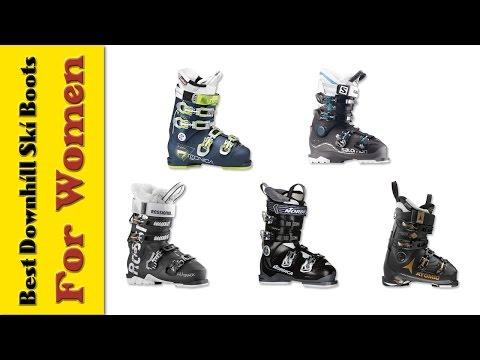 5 Best Downhill Ski Boots for Women | Best Ski Boots Reviews 2017 | Women Downhill Skiing Gear