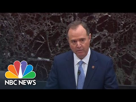 Watch Rep. Adam Schiff Read The Articles Of Impeachment To The Senate | NBC News