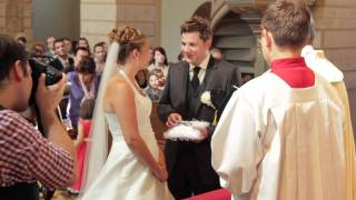 preview picture of video 'Andrea & Reinhardt - Hochzeitstrailer - 03.09.2011'