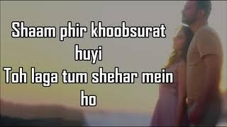 BAARISHEIN LYRICS | Atif Aslam feat. Nushrat Bharucha |