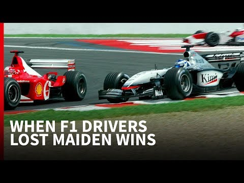 9 times F1 drivers were robbed of maiden victories