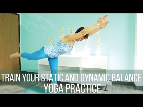 Train your static and dynamic balance yoga practice