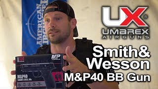 Smith & Wesson M&P 40 Pistol Air Gun Review : Umarex Airguns Handgun