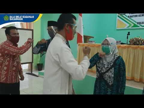 Pelaksanaan Diklat Kerjasama Pemguatan Kompetensi Kepala Madrasah di Kab. Pulang Pisau (KALTENG)