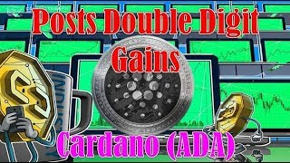 Cardano (ADA) Posts Double Digit Gains as Market Sees Green