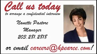 Consider a career with Pearce!