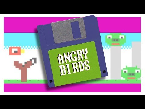 If Angry Birds were an '80s home computer game...