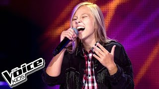 "Maria Nowak - ""Billionaire"" - Przesłuchania w ciemno - The Voice Kids 2 Poland"