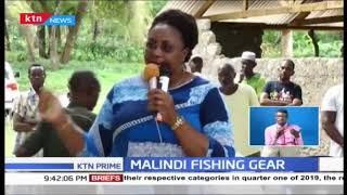 Aisha Jumwa issues fishing gear to better equip locals
