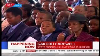 DP William Ruto remembers the late Nyeri Governor Wahome Gakuru as a loving family man