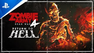 PlayStation Zombie Army 4: Dead War - Return to Hell and Free Left 4 Dead Character Pack   PS5, PS4 anuncio