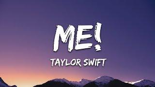 Taylor Swift - ME! (Lyrics) ft. Brendon Urie - YouTube