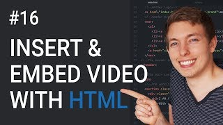16: How to Create HTML5 Videos and Embed Videos | Learn HTML and CSS | HTML Tutorial | Basics of CSS