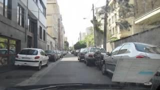 preview picture of video 'Tehran mit dem Auto durchquert'