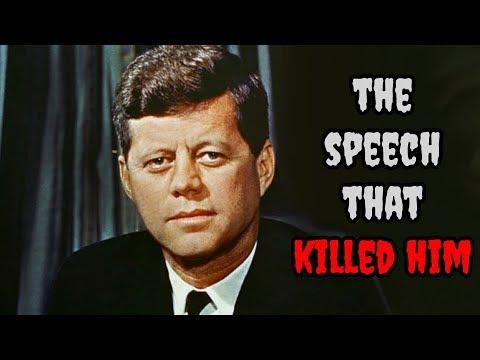 The SPEECH that KILLED John F. Kennedy - JFK