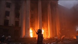 Ukraine: dozensdieinOdessablaze amid violence