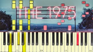 The 1975 - Is there somebody who can watch you [#reggiewatkins piano synthesia tutorial]