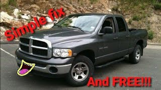 2003 dodge ram 1500 5 9L v8 cranks but wont start problem