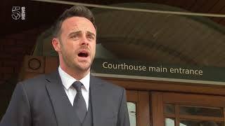 Ant McPartlin apologises for car crash and drink driving
