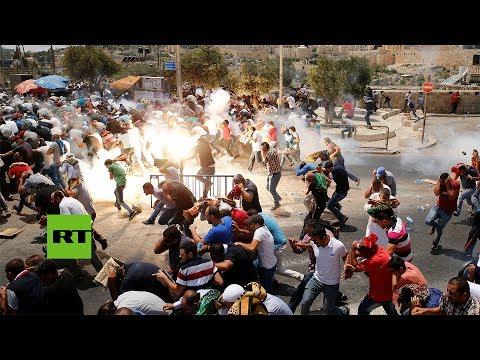 Jerusalén: Fuertes disturbios tras rezo musulmán
