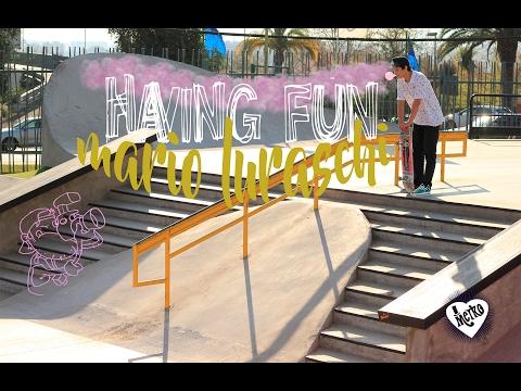 Skateboarding in Chile - Mario Luraschi - Santiago De Chile Skatepark Edit by Cuevas Films