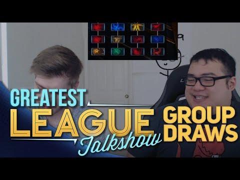 Greatest League Talkshow (GLT) - Group draws