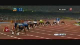 Usain Bolt World Rekord 200m 19,30 in Pekin 2008 (True Video)