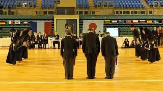 2020년 프랑스 오픈 검도대회 - 단체 결승전