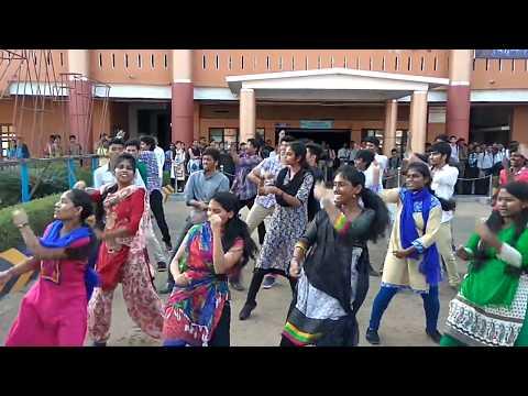 Vel tech flash mob 2017