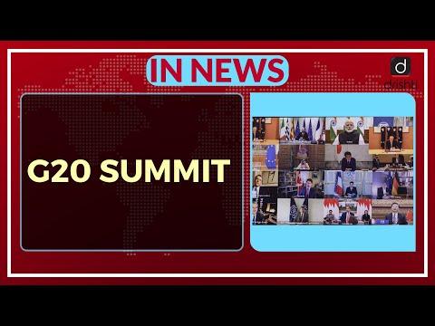 G20 Summit - In News
