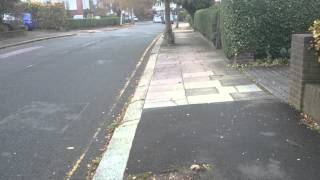preview picture of video 'Harrow on the Hill Suburb, London, England, UK'