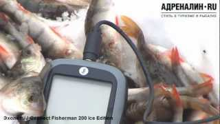 Эхолот jj-connect fisherman 220 duo ice edition.
