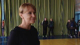 Ольга Бабенко на городском баскетбольном турнире им. В.Гурова