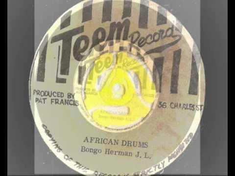 bongo herman j.l – african drums – teem records