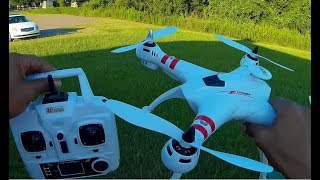 "BAYANGTOYS X-16 GPS VERSION ""FULL REVIEW & FLIGHT TEST"""
