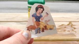 Disney Princess Snow White Press On Tattoos!!!!!!