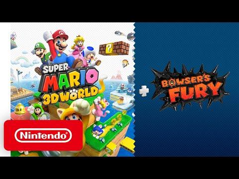 《超級瑪利歐 3D 世界 + 憤怒世界》明年2月登Switch