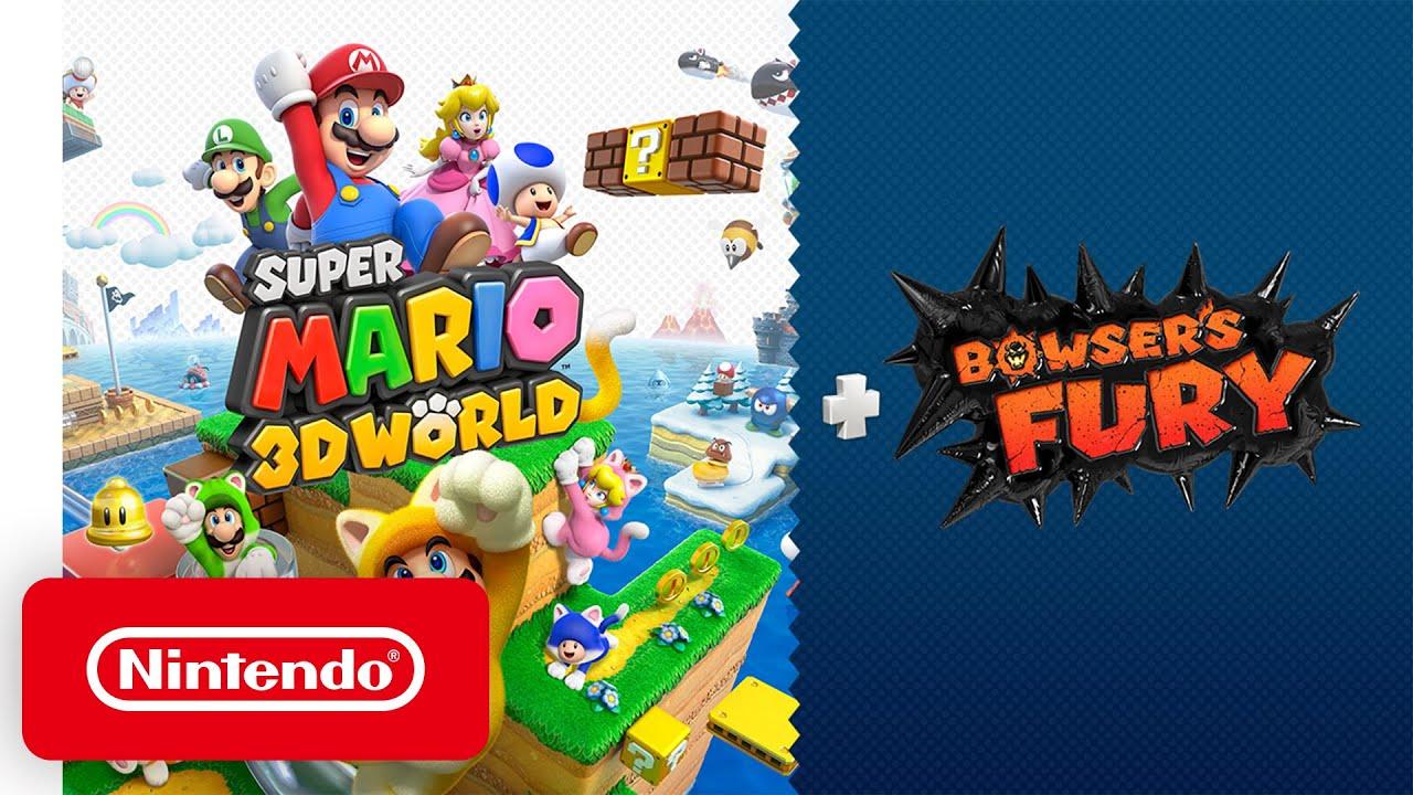 《超級瑪利歐 3D 世界 + 憤怒世界》將於2021年2月12日登陸Switch,在WiiU原版基礎上增加了全新的多人玩法,支援簡體/繁體中文,「憤怒世界」部分的情報將於未來公開。 Maxresdefault