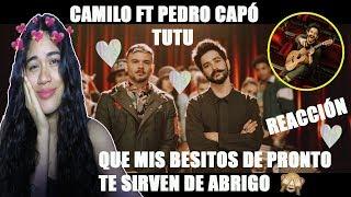 Camilo, Pedro Capó   Tutu *video REACCIÓN 😍 CAMILO MMM Me Encanto 💖