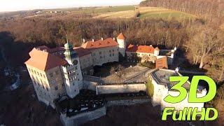 preview picture of video '[3DHD] Pieskowa Skała Castle / Zamek w Pieskowej Skale, Sułoszowa, Poland / Polska'