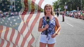 Trump's 4th of July Parade Draws Massive Crowd