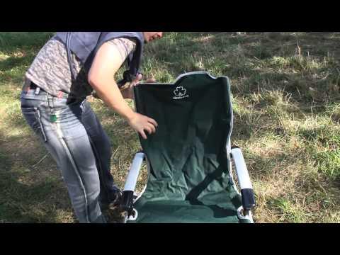 Кресло складное Greenell FC-7. Видеообзор.